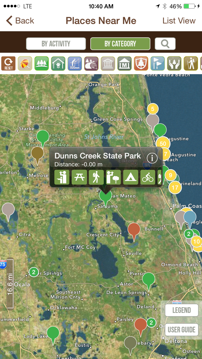 Florida State Parks Guide- Pocket Ranger® Screenshot