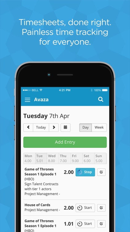 Avaza - Invoices, Timesheets, & Project Management