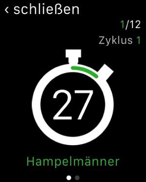 7-Minuten-Trainingseinheit Screenshot