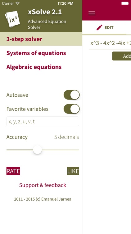 xSolve - Advanced Equation Solver screenshot-4