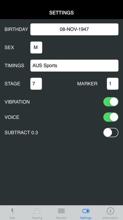 BEEP TEST TRAINER screenshot-4