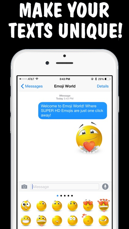 Text Smileys Keyboard - Smileys, Emojis & Emoticons for iPhone by Emoji World