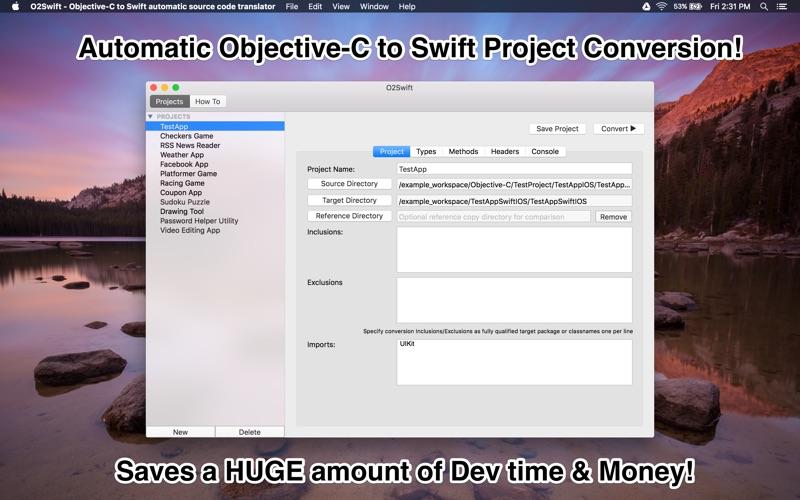O2Swift - Objective-C to Swift automatic source code translator   App Price  Drops