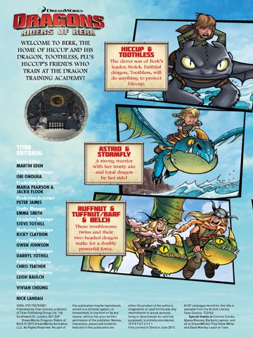Dreamworks dragons riders of berk volume 5 how to train your screenshot 1 ccuart Images
