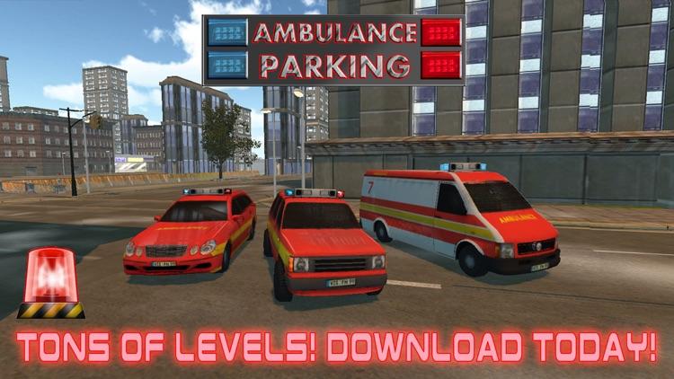 3D Rescue City Ambulance Parking Simulator