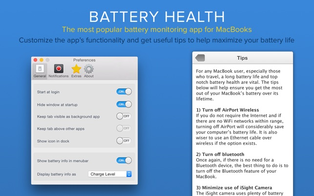 Battery Health - Monitor Stats on the Mac App Store