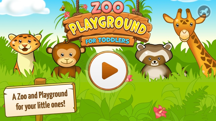 Zoo Playground - Games with animated animals for kids screenshot-0