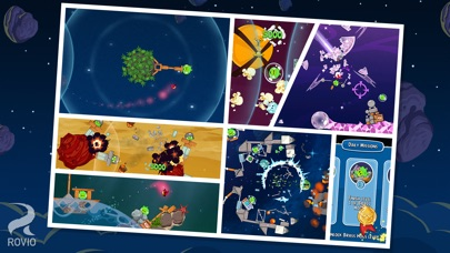 Angry Birds Space Screenshots