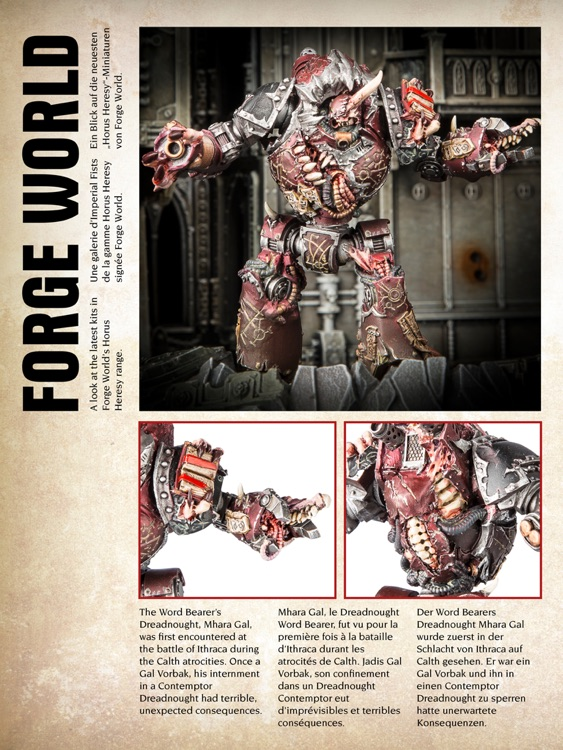 Warhammer: Visions - the monthly magazine from the creators of White Dwarf screenshot-3