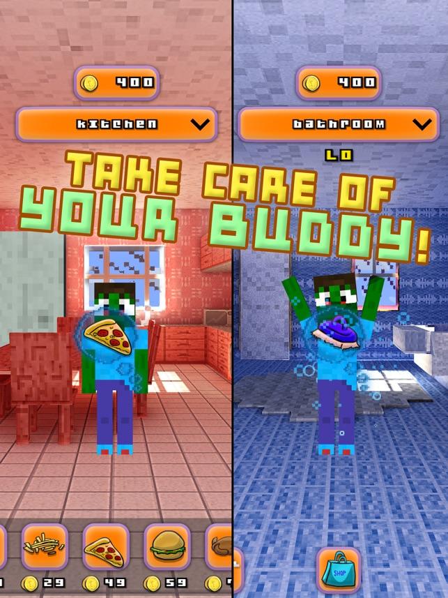 Blocky Bro - My Virtual Talking Pocket Pet With Minecraft Skin ...