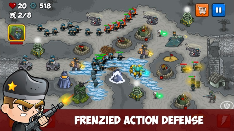 Combat TD screenshot-3