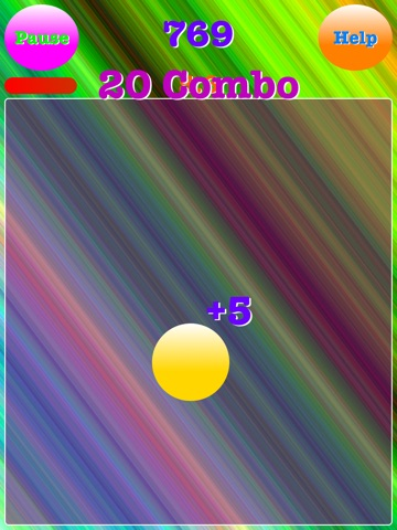 Screenshot #4 pour Ball Tapper-How many times can you tap it?
