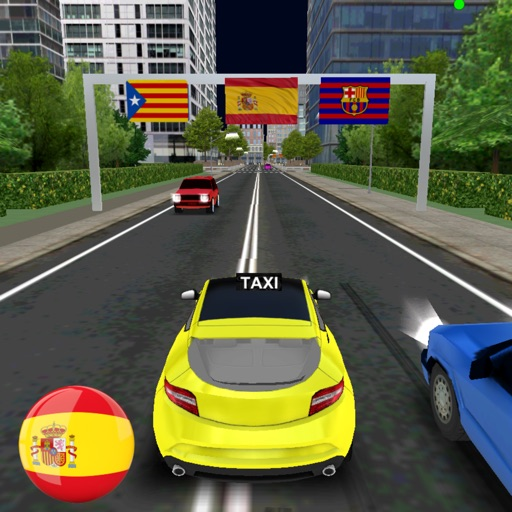 Taxi Driver - Spain Barcelona City 3D