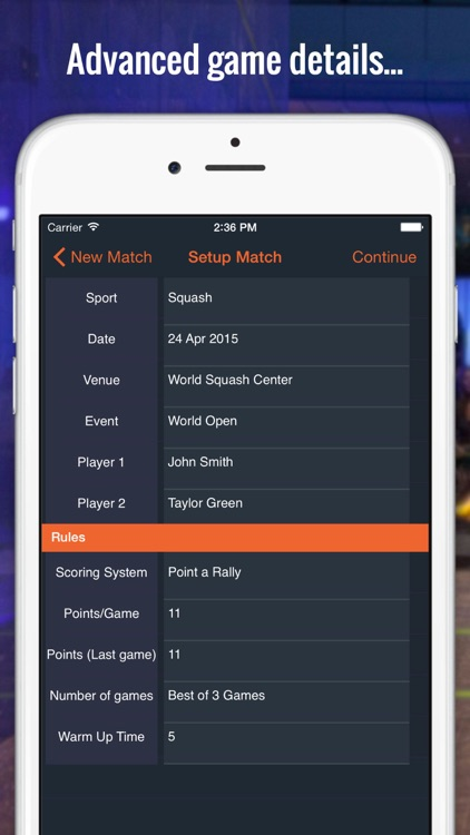 Score Squash screenshot-1