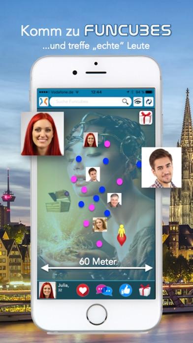 FUNCUBES - neue Freunde treffen & Geschenke findenScreenshot von 1