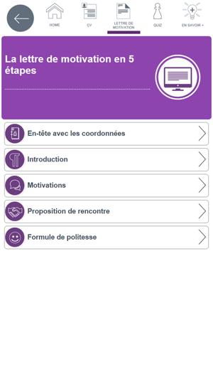 App Store Cv Lm Pôle Emploi