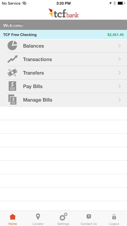 TCF Bank Mobile screenshot-0