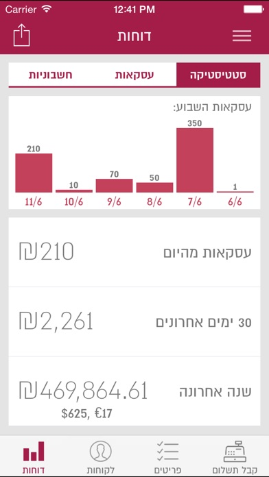 download iPay Gold יעד סליקה apps 3