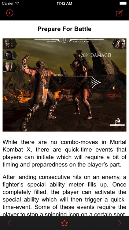 Tips for Mortal Kombat X - Mobile Guide with tips and tricks for MKX!