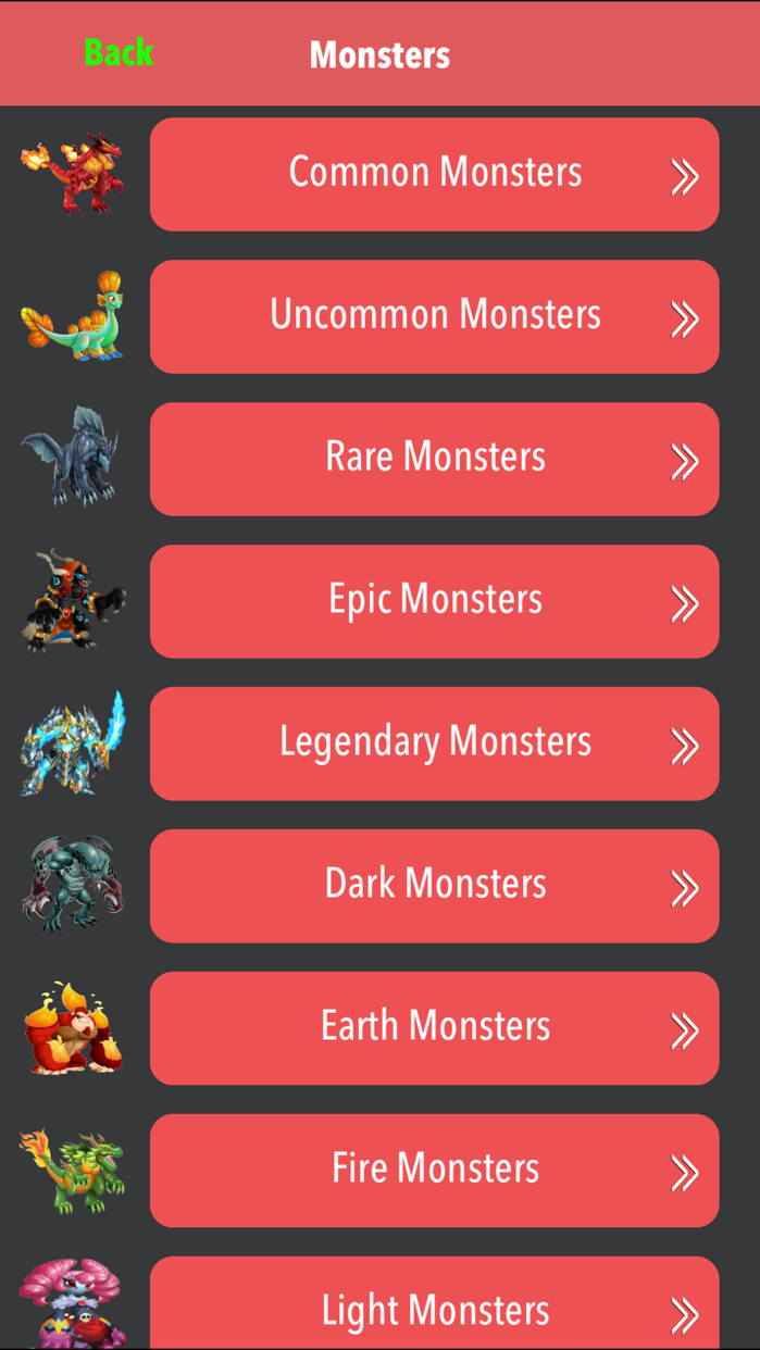 The New Comprehensive Guide For Monster Legends 2015- Unofficial Screenshot