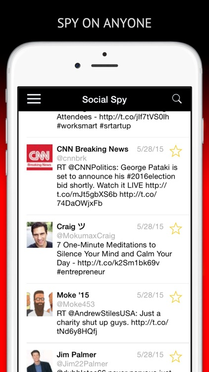 Social Spy Full - The ultimate anonymous spying app for Twitter.
