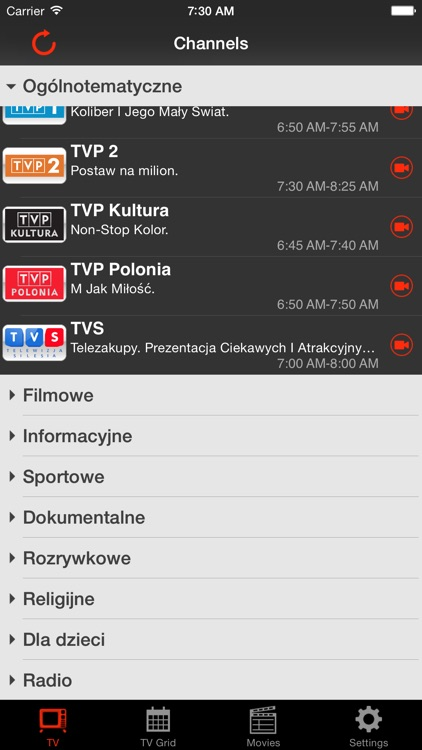 Polsky.TV Mobile