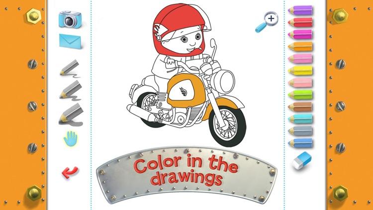 Mike's motorbike - Little Boy - Discovery screenshot-4