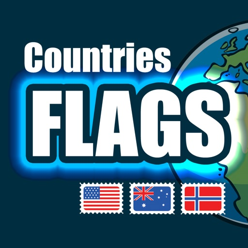 Flags and Countries - Quiz for Learning Geography icon