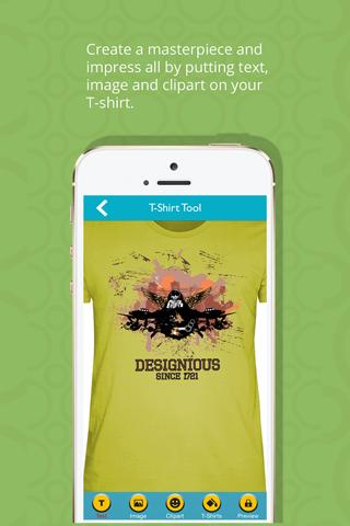 T-Shirt Designer Tool App screenshot 2
