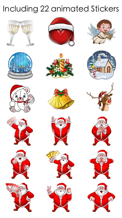 Christmas and New Year Stickers screenshot-4