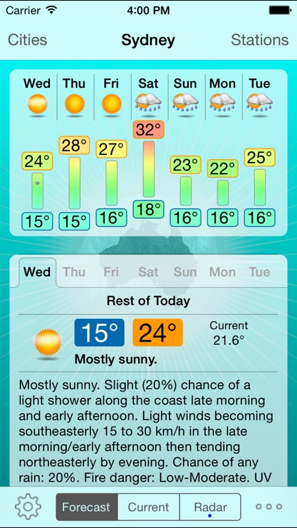 Oz Weather Plus - Australia screenshot-0