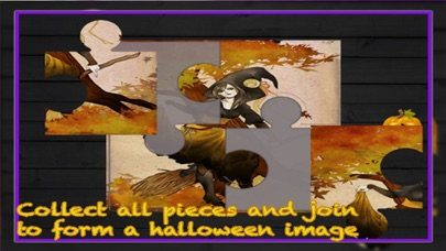 Halloween Puzzle for kids - All in one Game screenshot three