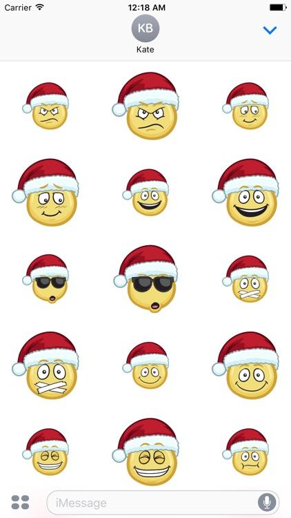 Merry Christmas Emojis - Christmas Stickers screenshot-3