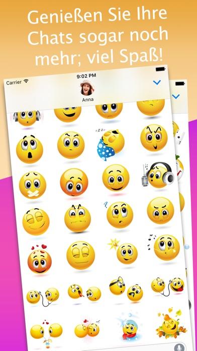 3D Emoji-Aufkleber für iMessageScreenshot von 2