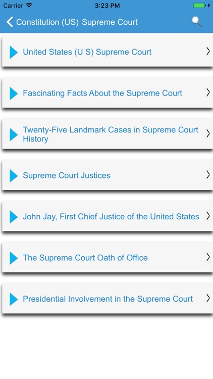 United States Constitution - Pocket Edition screenshot-1