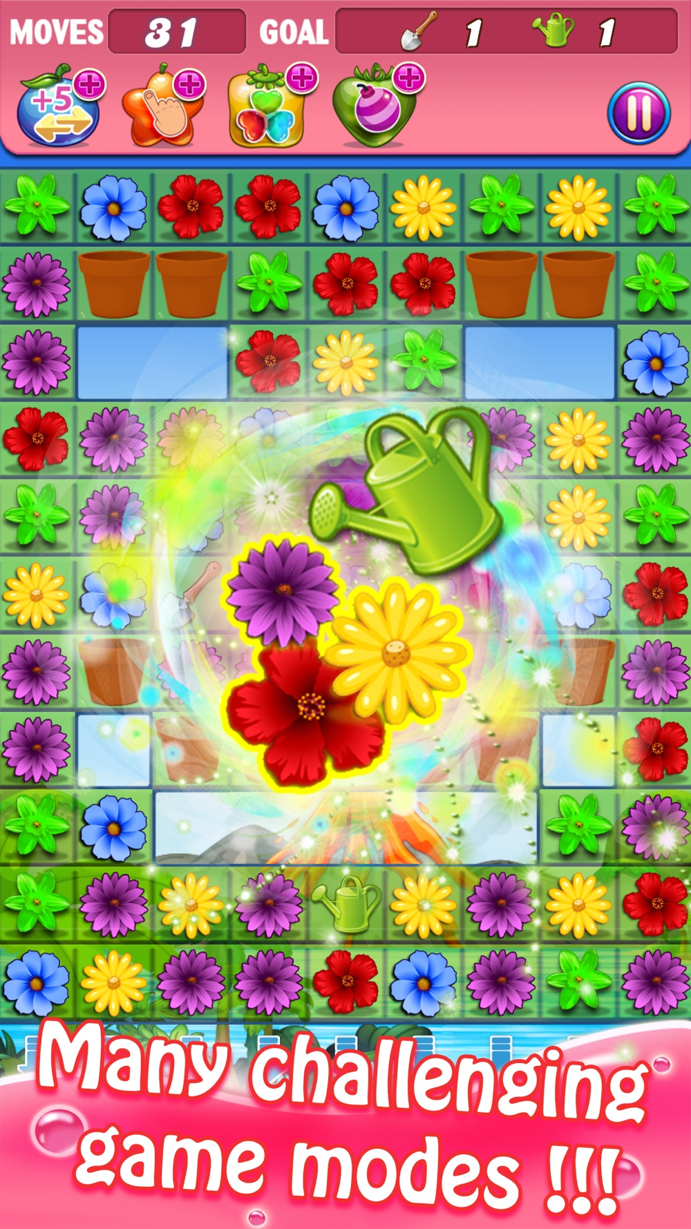 Blossom Swap – Free Flower Link Paradise Games Cheat Codes