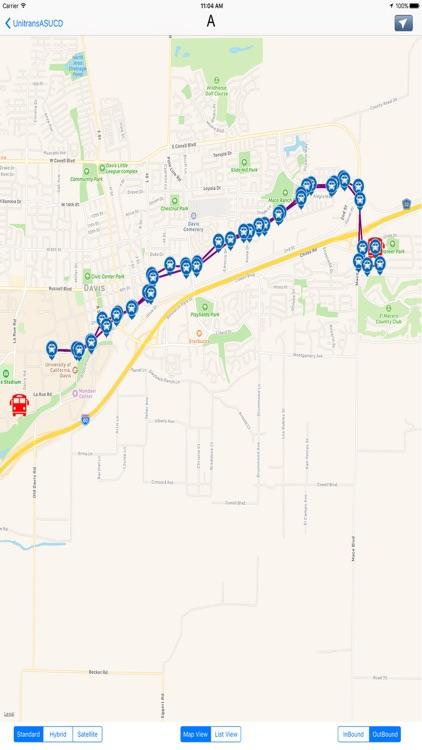 Unitrans ASUCD Transit - California