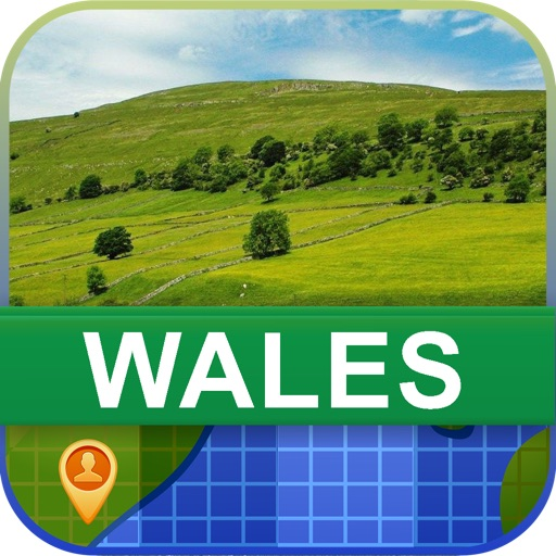 Offline Wales Map - World Offline Maps