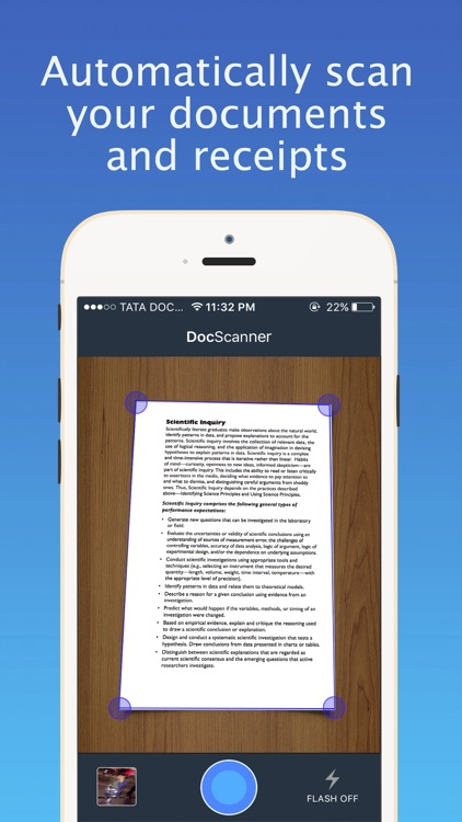 Scanner for Docs - Scanner & Printer for Scanning PDF Documents, Photos, Receipts, Business Cards