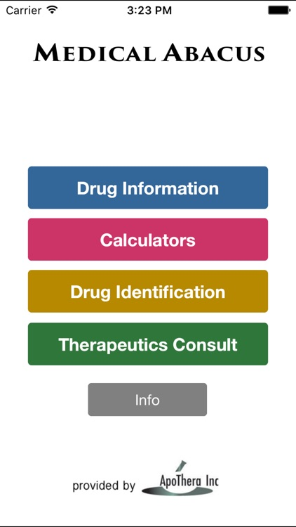 MedicalAbacus Medical & Drug Reference for Doctors