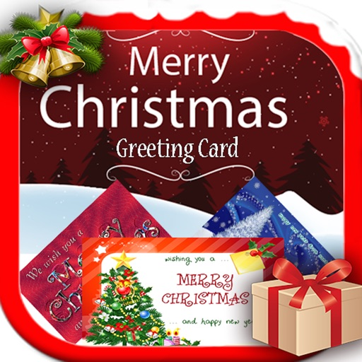 Merry Christmas & Happy Near Greeting Cards