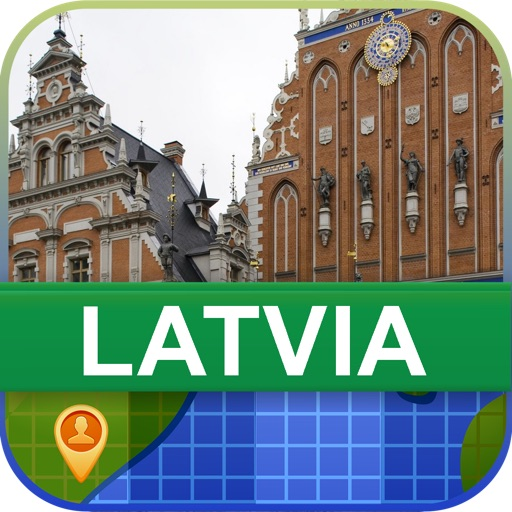 Offline Latvia Map - World Offline Maps icon