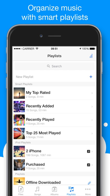 Musicloud - MP3 and FLAC Music Player for Clouds screenshot-4