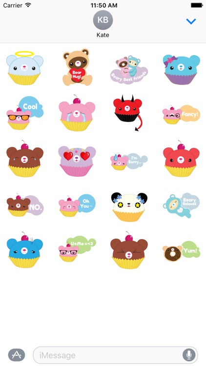 Beary Sweet Stickers