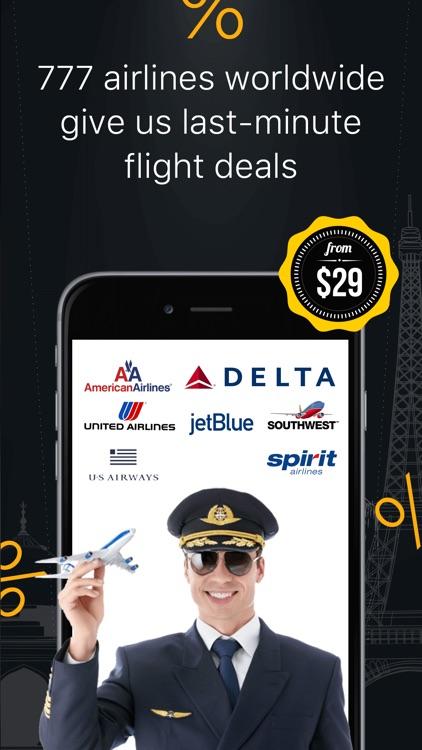 Cheap Flight Finder & Tickets screenshot-3