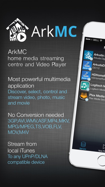 ArkMC Pro UPnP media streaming and HD video player screenshot-0