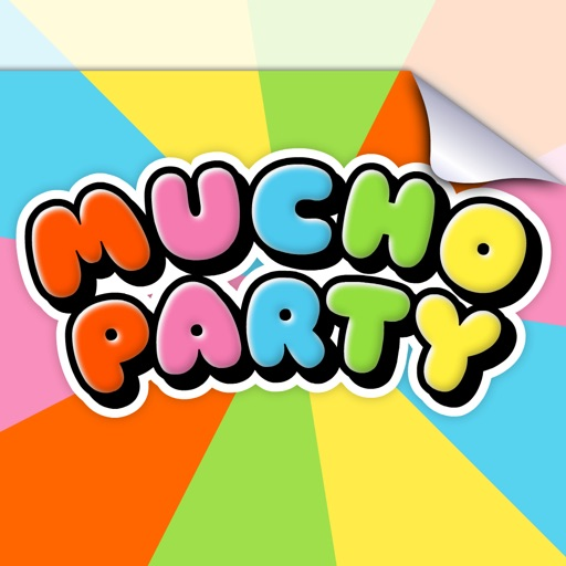 Mucho Party stickers