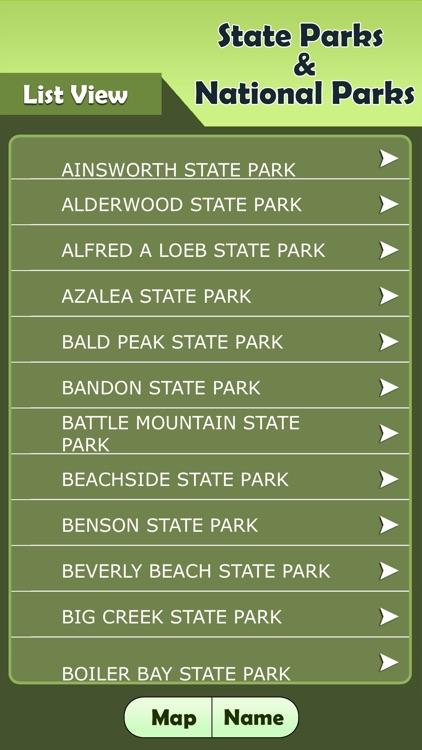 Oregon - State Parks & National Parks Guide