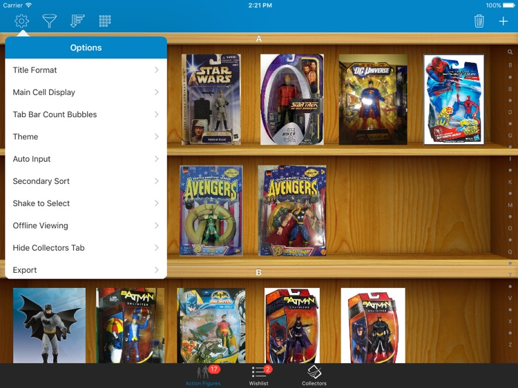 Action Figures Toys Collector for iPad screenshot-4