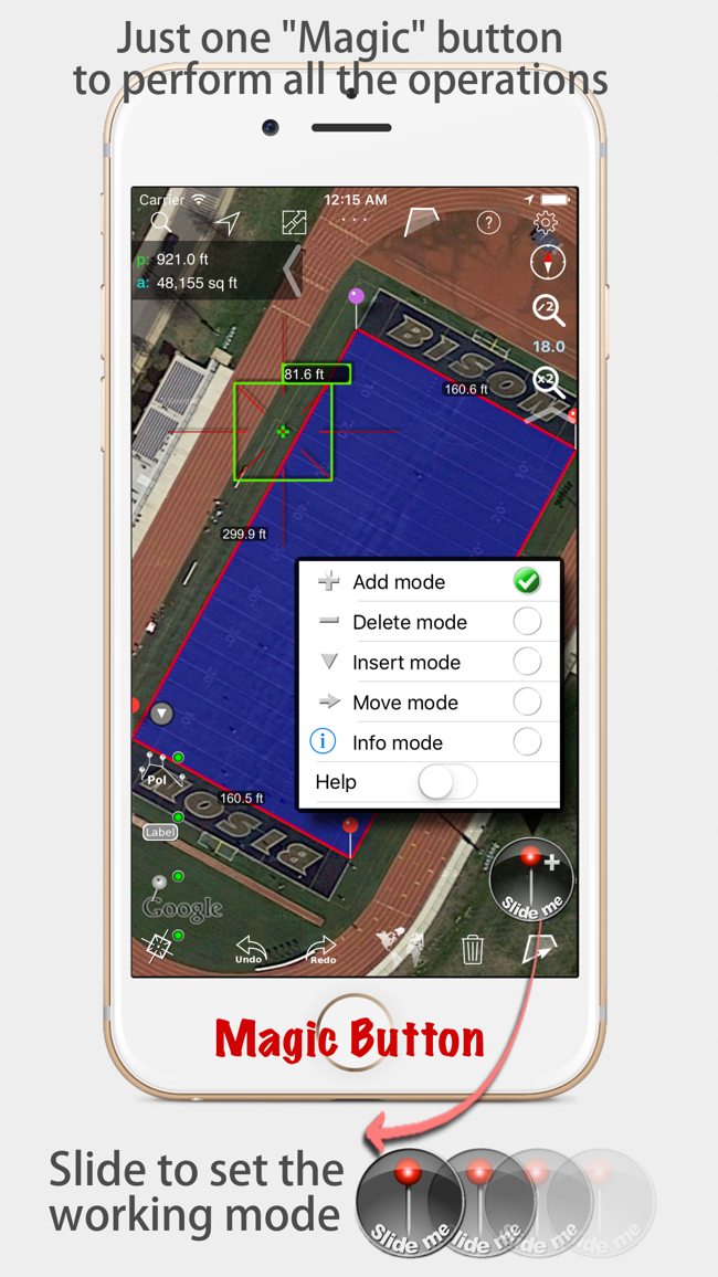 Measure Map - By Global DPI Screenshot